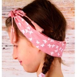 Headband femme foulard pompons bohème HB8 Accessoires cheveux