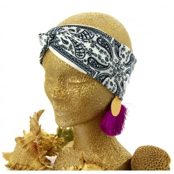 Headband bandana bohème HB12