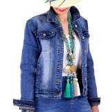 Veste jean femme grande taille LUBERON-Veste femme-CHARLESELIE94