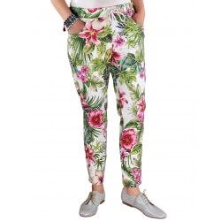 Pantalon grande taille été JAZZ jungle