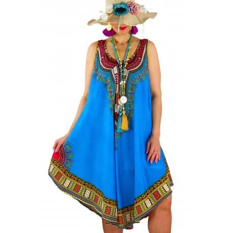 robe INCAS turquoise