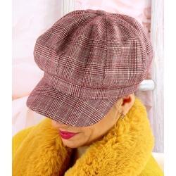 Casquette femme laine Gavroche 6111 Rouge Casquette femme