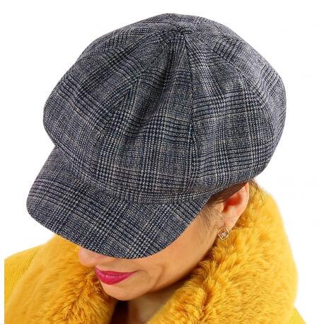 Casquette femme laine Gavroche 6111 Noire-Casquette femme-CHARLESELIE94