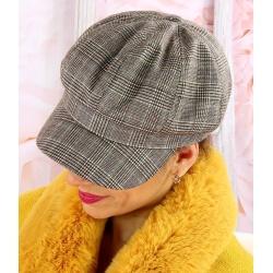 Casquette femme laine Gavroche 6111 Beige Casquette femme