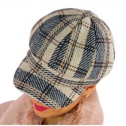 Casquette femme Gavroche laine beige 6114