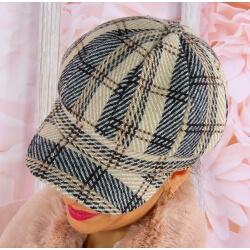 Casquette femme Gavroche laine 6114 Beige Casquette femme