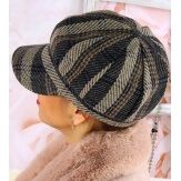 Casquette femme Gavroche laine 6114 Gris-Casquette femme-CHARLESELIE94