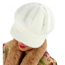 Casquette femme Gavroche laine beige 6110
