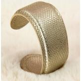 Bracelet manchette large cuir ethnique BM1