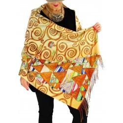 Écharpe étole châle femme laine XXL KLIMT 6