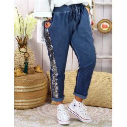 Pantalon jogg femme grande taille strech EVIANE Jean