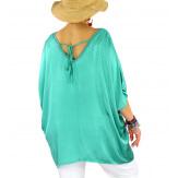 Tunique satin habillée grande taille été CIGALOU Jade-Tunique été femme-CHARLESELIE94