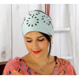 Bandeau turban cheveux femme gris bijoux BC9 Accessoires mode femme