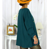 T shirt tunique femme grande taille coton canard CIRCUS Tee shirt tunique femme grande taille