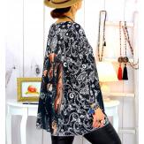 Pull tunique maille douce grande taille WILLO M21 Pull tunique femme