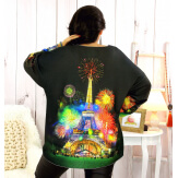 Pull tunique maille douce femme grande taille WILLO M70 Pull femme grande taille