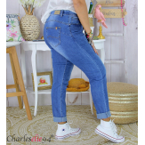 Jean slim femme grande taille stretch push up MOSTA Jean femme