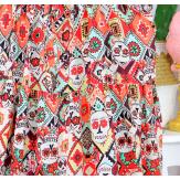 Robe longue d' été maxi bretelles grandes tailles TESS 3 Robe longue grande taille