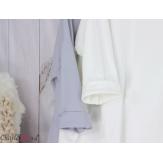 Sweatshirt tunique longue femme grande taille LYV kaki Tunique femme grande taille