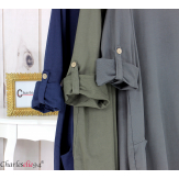 Robe boule sweat poches femme grande taille RANI canard Robe grande taille