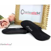 Socquettes courtes en bambou femme lot 2 paires noires Accessoires mode femme