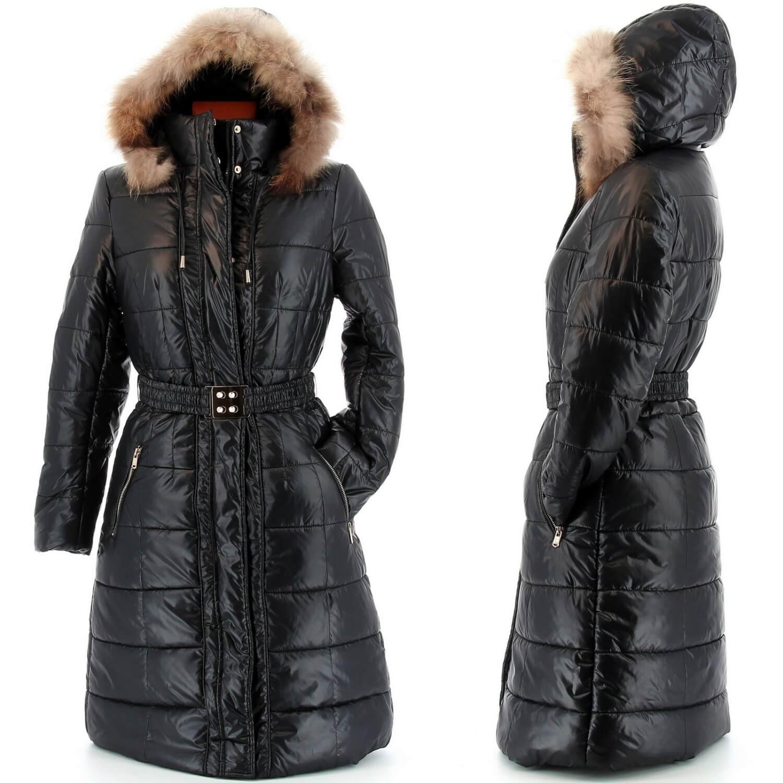 doudoune longue fourrure manteau parka capuche axelle noir. Black Bedroom Furniture Sets. Home Design Ideas